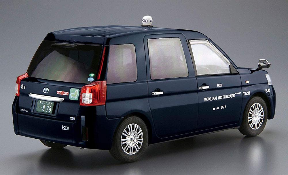 トヨタ NTP10 JPNタクシー '17 国際自動車仕様プラモデル(アオシマ1/24 ザ・モデルカーNo.SP057162)商品画像_3