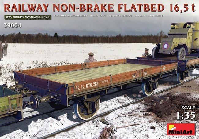 無蓋貨車 (ブレーキ装置なし) 16.5tプラモデル(ミニアートWW1 ミリタリーミニチュアNo.39004)商品画像