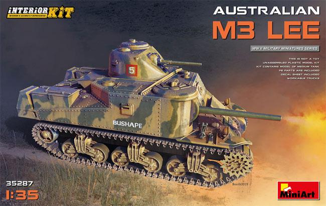 オーストラリア軍 M3 リー フルインテリアプラモデル(ミニアート1/35 WW2 ミリタリーミニチュアNo.35287)商品画像