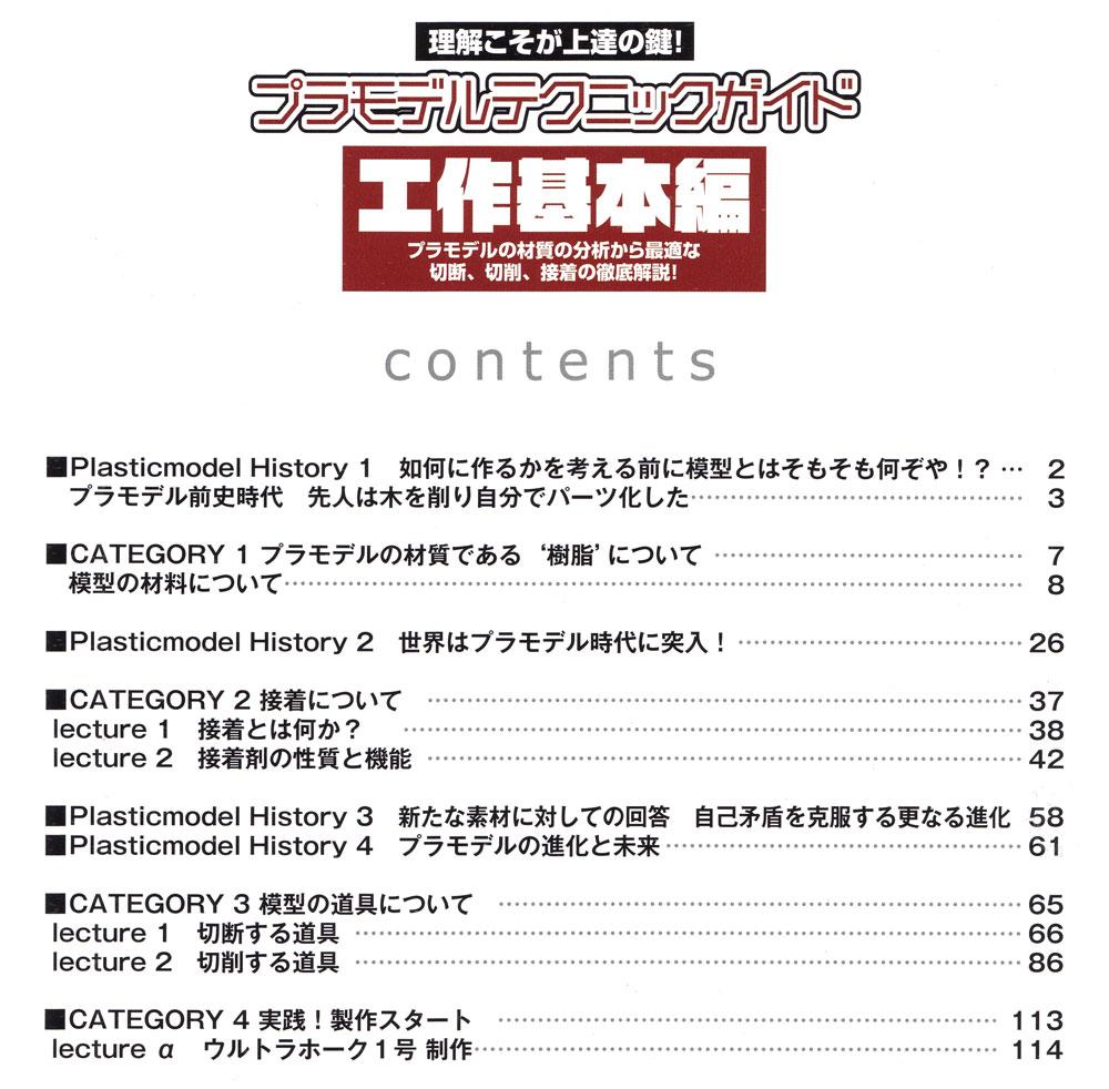 プラモデルテクニックガイド 工作基本編本(モデルアート臨時増刊No.1029)商品画像_1