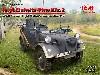 ドイツ le.gl. Pkw Kfz.2 軽四輪駆動 無線搭載車
