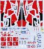 トヨタ TS050 ル・マン 2017 フルスポンサーロゴ デカール