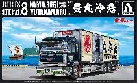 アオシマ1/32 アートトラック丸美グループ 豊丸冷急