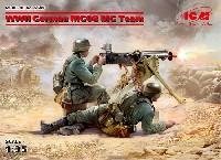 ICM1/35 ミリタリービークル・フィギュアWW2 ドイツ MG08 MGチーム