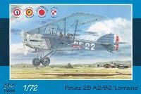 アズール1/72 航空機モデルポテーズ 25 A2/B2 ロレーヌ 12Eb エンジン搭載機