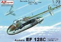 AZ model1/72 エアクラフト プラモデルユンカース EF128C 複座高等練習機