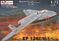 AZ model1/72 エアクラフト プラモデルユンカース EF128E/N1 w/ナクソスレーダー ルフトヴァッフェ 1946