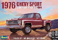 レベルカーモデル1976 シェビー スポーツ ステップサイド ピックアップ 4×4