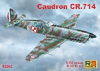 RSモデル1/72 エアクラフト プラモデルコードロン Cr.714 1940年 フランス