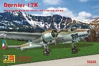 RSモデル1/72 エアクラフト プラモデルドルニエ Do17K 爆撃機