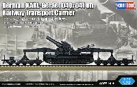 ドイツ 自走臼砲 カール用鉄道運搬車 後期型