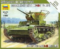 ソビエト軽戦車 T-26 1933年製