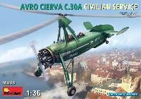 アブロ シェルヴァ C.30 民間機