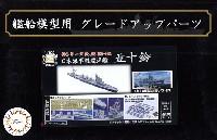 フジミ1/700 艦船模型用グレードアップパーツ日本海軍 軽巡洋艦 五十鈴 エッチングパーツ w/2ピース 25ミリ機銃