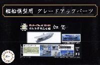 フジミ1/700 艦船模型用グレードアップパーツ日本海軍 航空母艦 加賀 エッチングパーツ w/艦名プレート