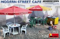 ミニアート1/35 ビルディング&アクセサリー シリーズモダンストリートカフェ