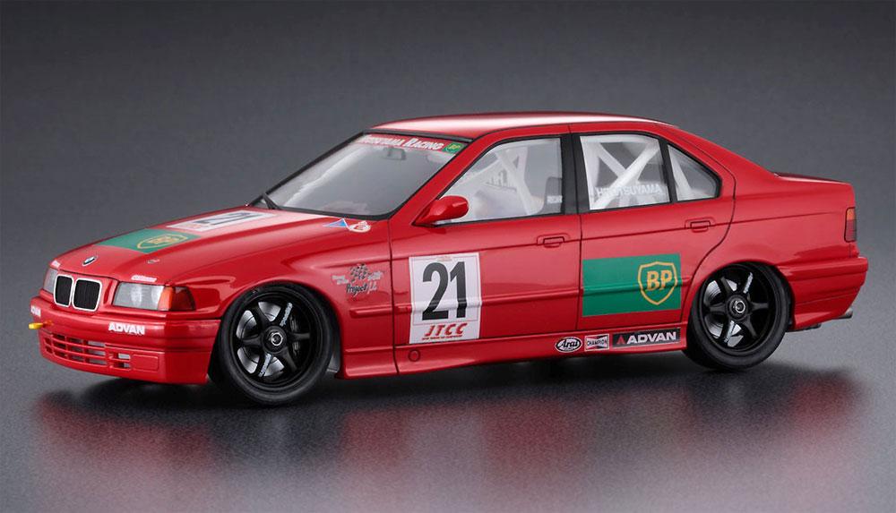 JTCC BP アドバン BMW 318iプラモデル(ハセガワ1/24 自動車 限定生産No.20430)商品画像_2
