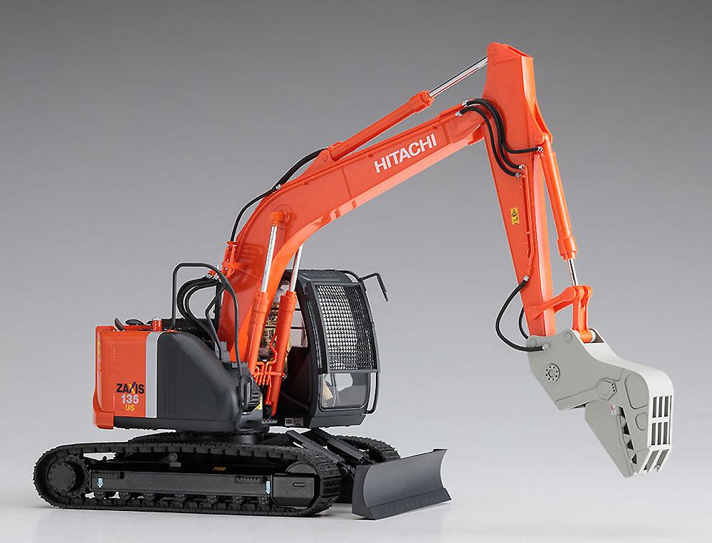日立建機 油圧ショベル ZAXIS 135US クラッシャー仕様機プラモデル(ハセガワ建機シリーズNo.66103)商品画像_3
