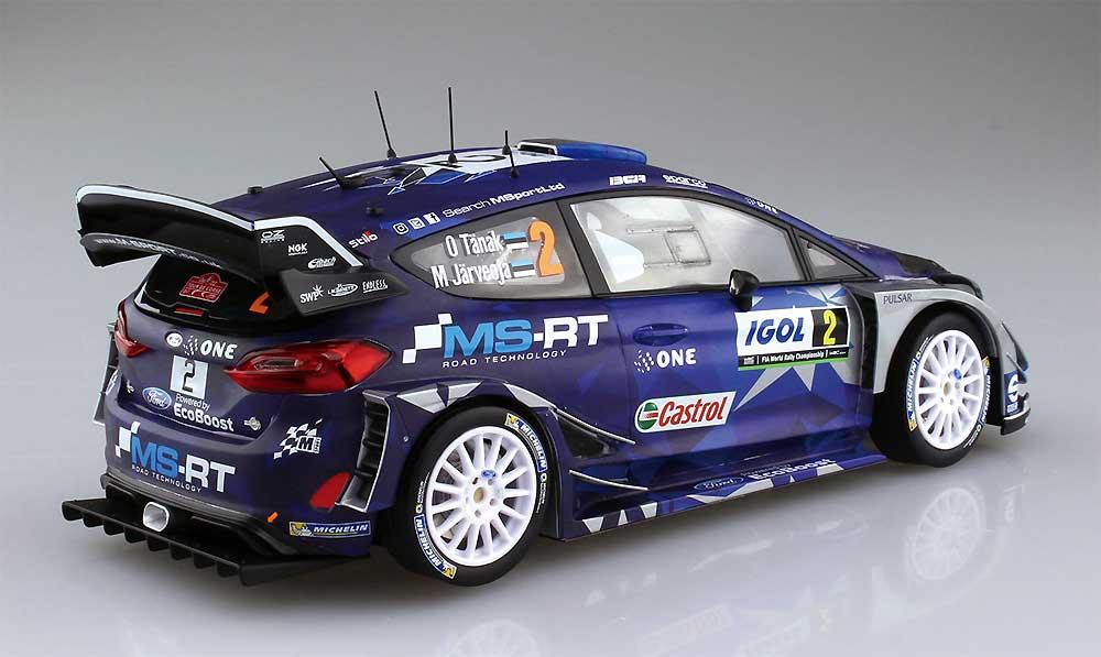 フォード フィエスタ RS WRC 2017 ツール・ド・コルス 2017 オット・タナク/マーティン・ヤルベオヤプラモデル(BELKITS1/24 PLASTIC KITSNo.BEL-013)商品画像_3
