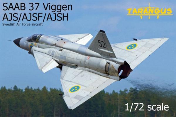 サーブ 37 ビゲン AJS/AJSF/AJSHプラモデル(タラングス1/72 エアクラフト プラモデルNo.TA7205)商品画像