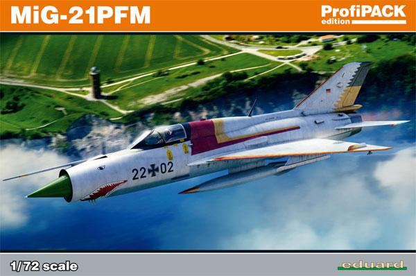 MiG-21PFMプラモデル(エデュアルド1/72 プロフィパックNo.70144)商品画像