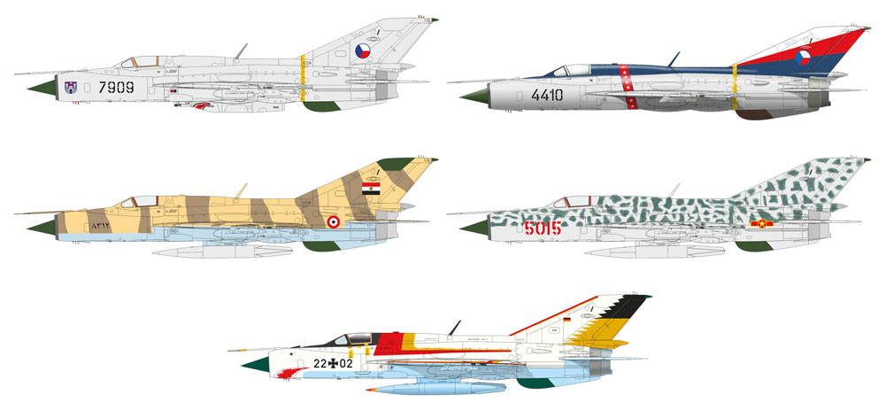 MiG-21PFMプラモデル(エデュアルド1/72 プロフィパックNo.70144)商品画像_3