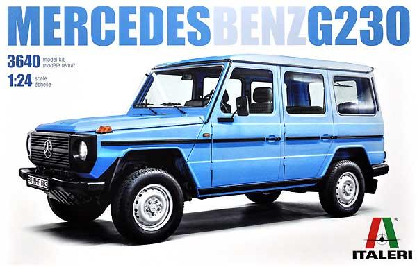 メルセデス ベンツ G230 ゲレンデヴァーゲンプラモデル(イタレリ1/24 カーモデルNo.3640)商品画像