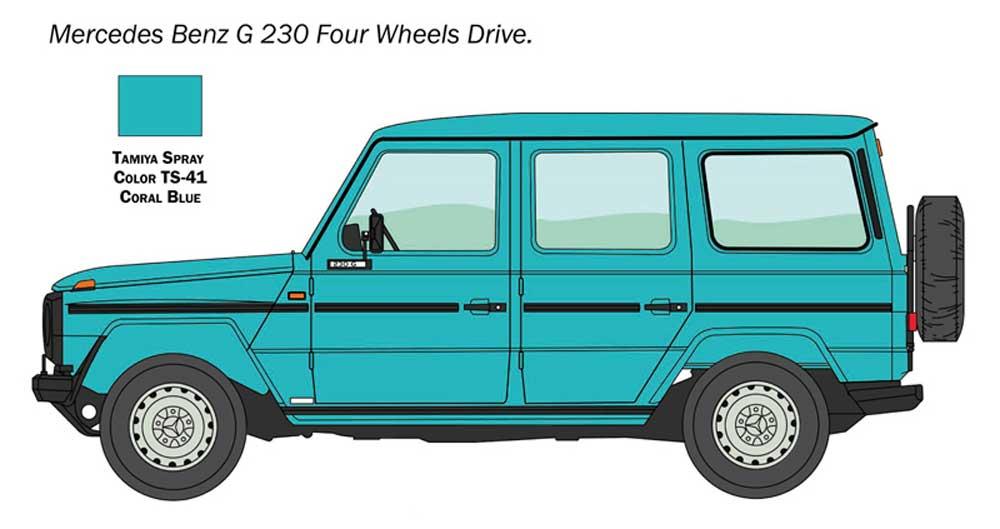 メルセデス ベンツ G230 ゲレンデヴァーゲンプラモデル(イタレリ1/24 カーモデルNo.3640)商品画像_1