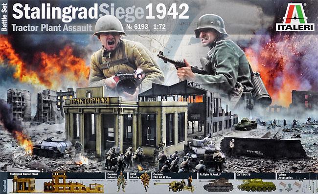 スターリングラード包囲戦 1942 ウラヌス作戦プラモデル(イタレリBattle Set (バトルセット)No.6193)商品画像
