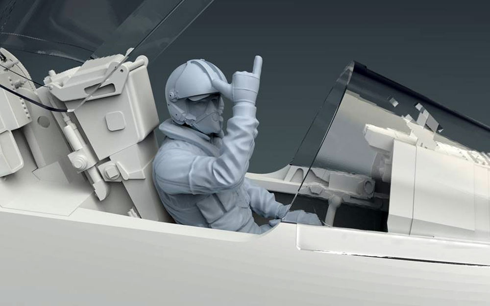 ミラージュ 2000Cプラモデル(キティホーク1/32 エアモデルNo.KH32020)商品画像_3
