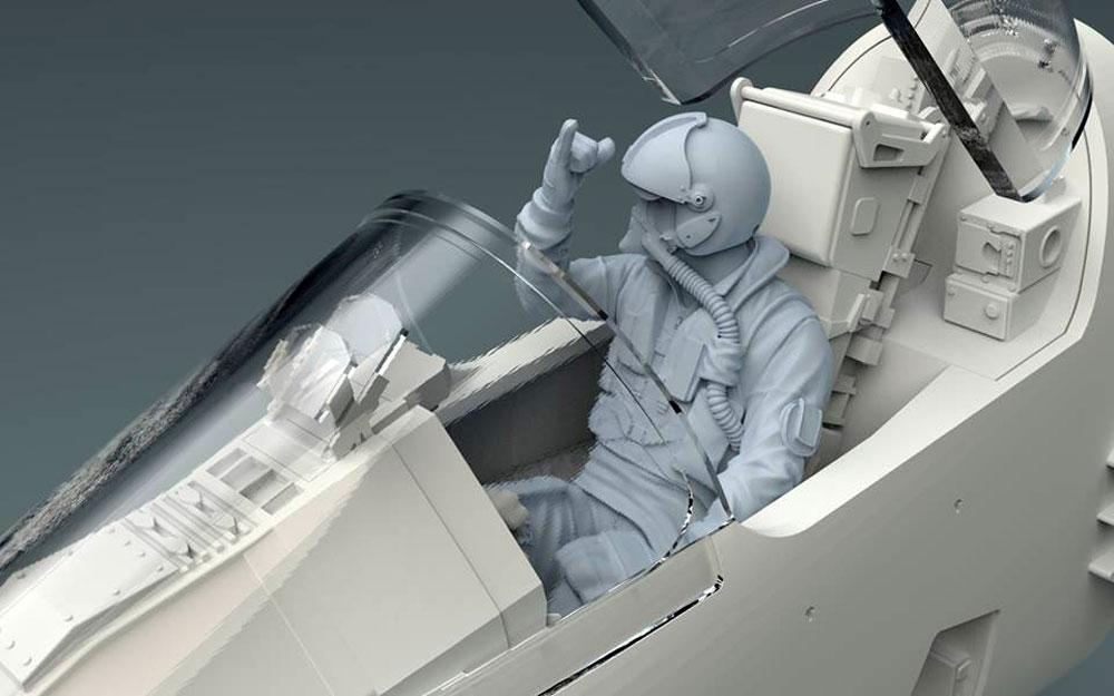ミラージュ 2000Cプラモデル(キティホーク1/32 エアモデルNo.KH32020)商品画像_4