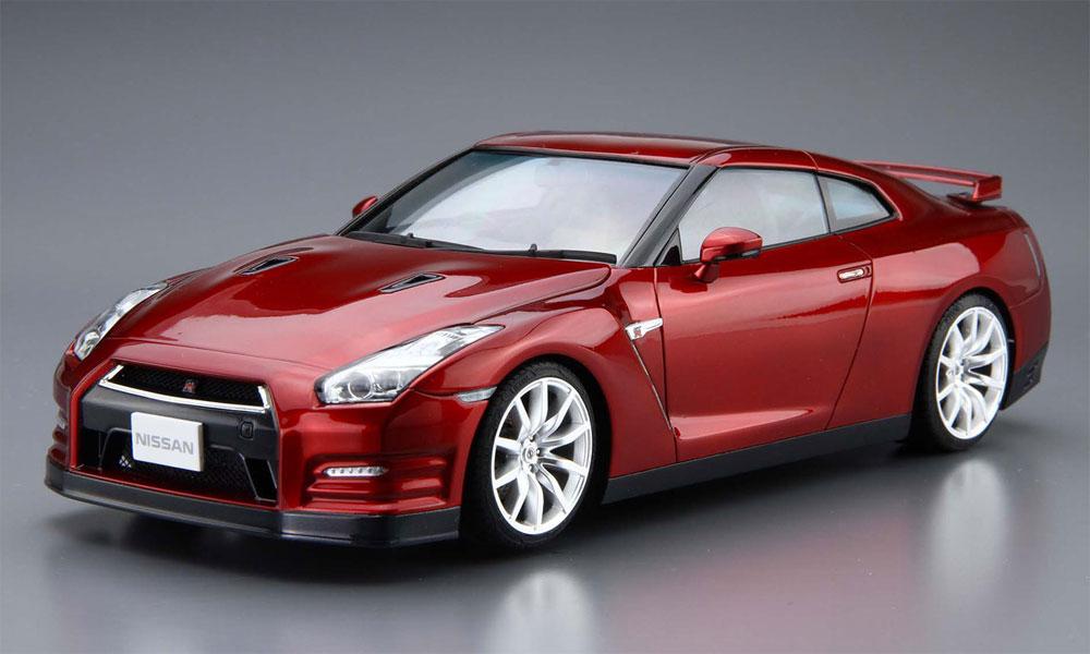 ニッサン R35 GT-R ピュアエディション '14プラモデル(アオシマ1/24 ザ・モデルカーNo.003)商品画像_2