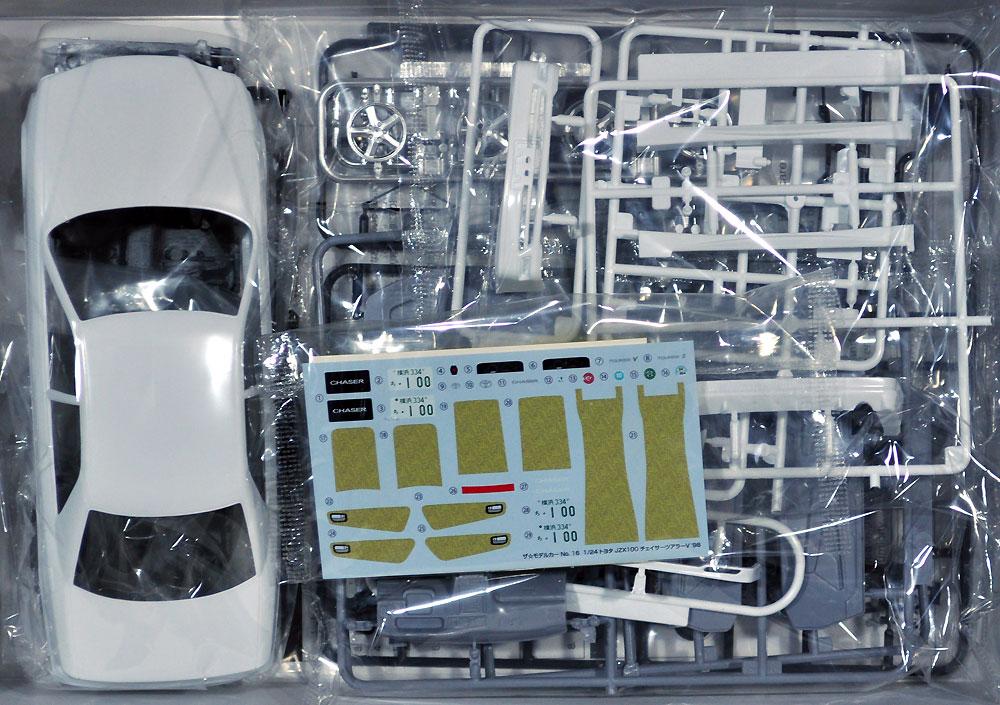 トヨタ JZX100 チェイサー ツアラーV '98プラモデル(アオシマ1/24 ザ・モデルカーNo.016)商品画像_1