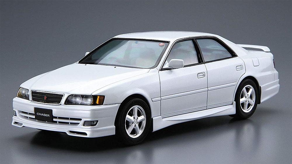 トヨタ JZX100 チェイサー ツアラーV '98プラモデル(アオシマ1/24 ザ・モデルカーNo.016)商品画像_2