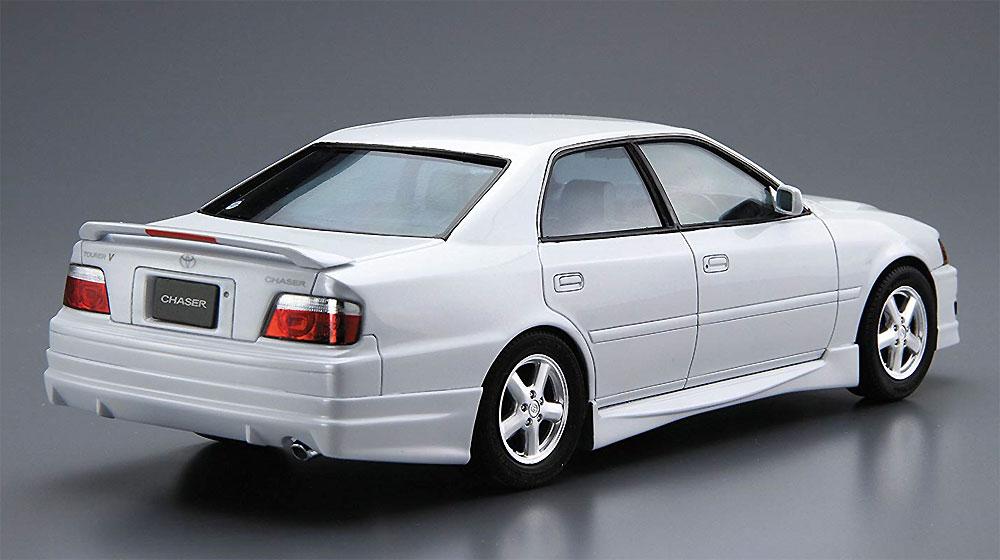 トヨタ JZX100 チェイサー ツアラーV '98プラモデル(アオシマ1/24 ザ・モデルカーNo.016)商品画像_3