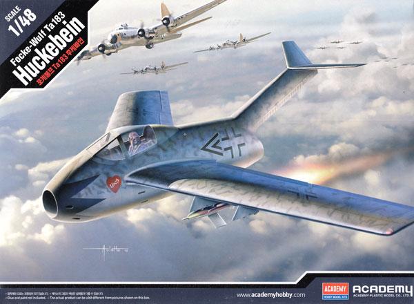 フォッケウルフ Ta183 フッケバインプラモデル(アカデミー1/48 Scale AircraftsNo.12327)商品画像