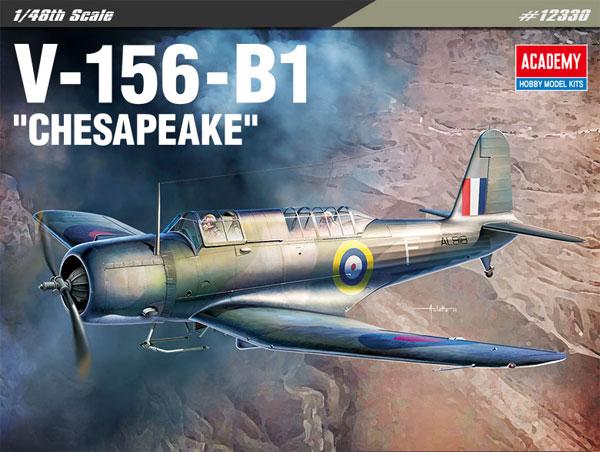 V-156-B1 チェサピークプラモデル(アカデミー1/48 Scale AircraftsNo.12330)商品画像