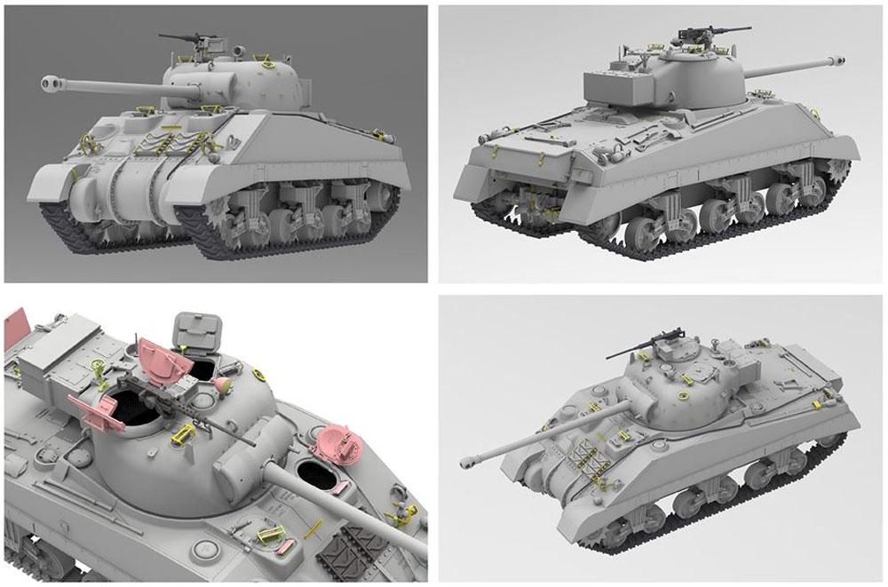 イギリス戦車 シャーマン 5C ファイアフライプラモデル(ライ フィールド モデル1/35 Military Miniature SeriesNo.5038)商品画像_3
