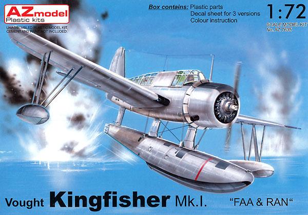 ヴォート キングフィッシャー Mk.1 艦隊航空隊&オーストラリア空軍プラモデル(AZ model1/72 エアクラフト プラモデルNo.AZ7635)商品画像