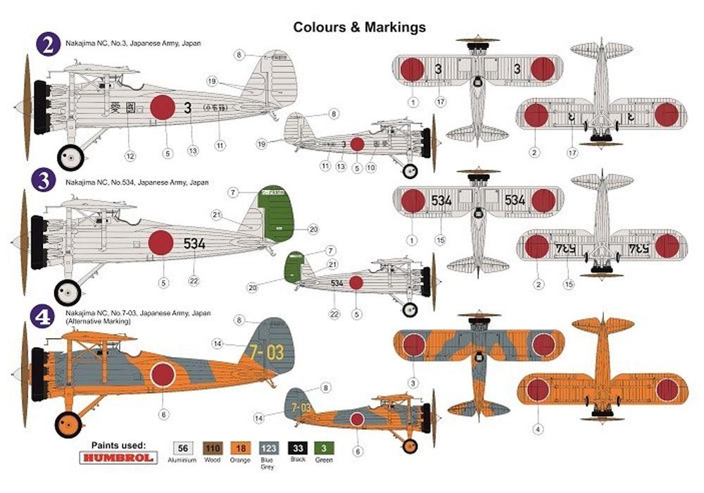 中島 NC 91式戦闘機 日本陸軍飛行戦隊プラモデル(AZ model1/72 エアクラフト プラモデルNo.AZ7639)商品画像_1