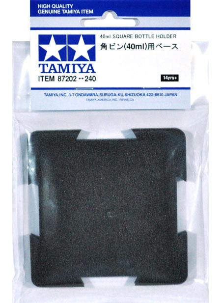 角ビン(40ml)用ベースベース(タミヤメイクアップ材No.87202)商品画像