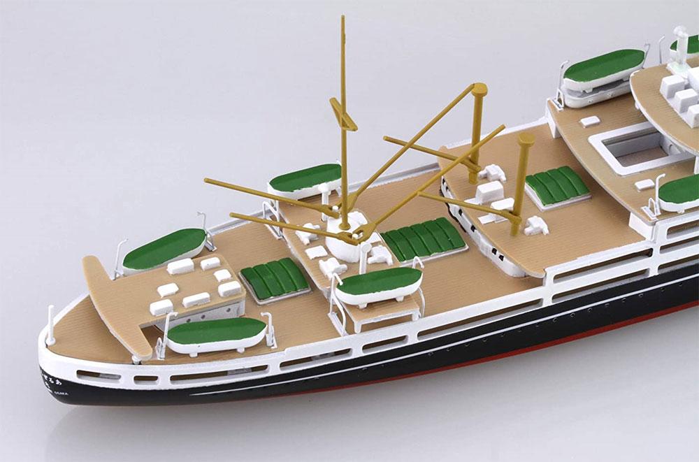 大阪商船 あるぜんちな丸/ぶらぢる丸プラモデル(フジミ1/700 特シリーズNo.079)商品画像_4
