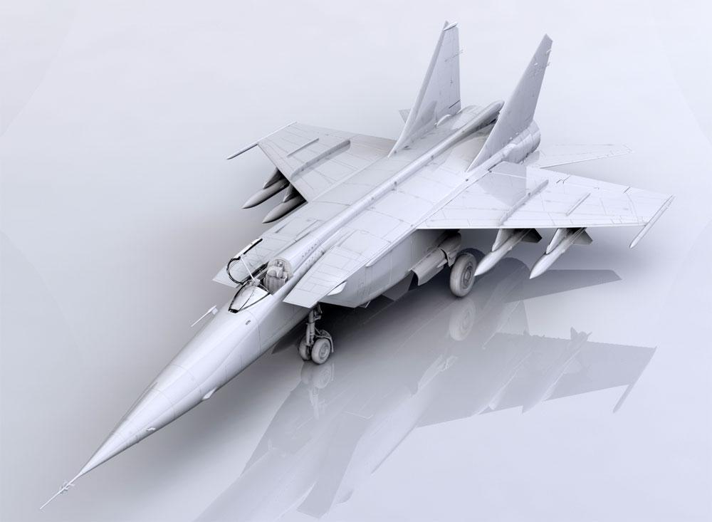 MiG-25BMプラモデル(ICM1/72 エアクラフト プラモデルNo.72175)商品画像_1