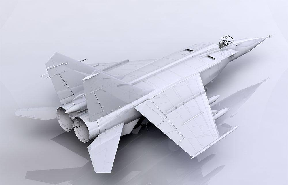 MiG-25BMプラモデル(ICM1/72 エアクラフト プラモデルNo.72175)商品画像_2