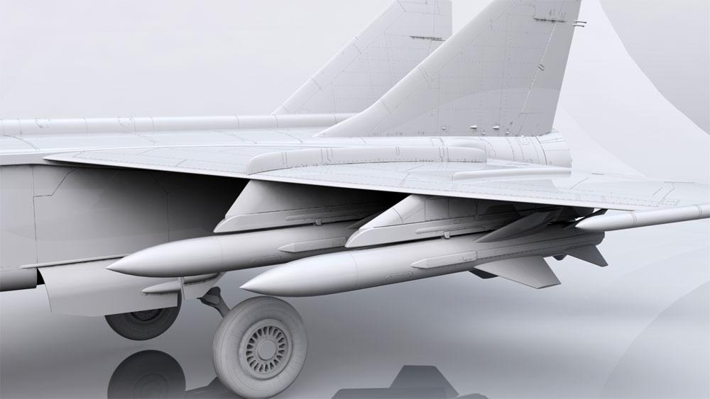 MiG-25BMプラモデル(ICM1/72 エアクラフト プラモデルNo.72175)商品画像_4