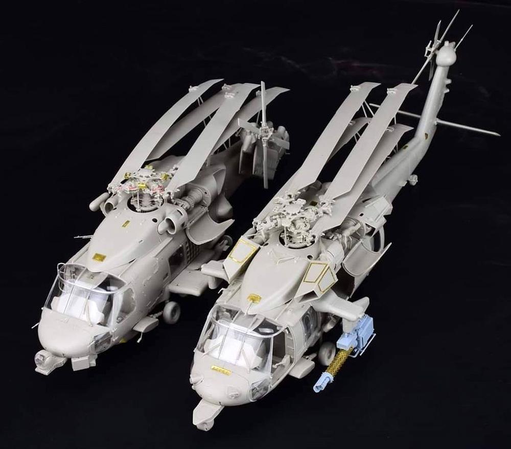 MH-60S ナイトホークプラモデル(キティホーク1/35 エアモデルNo.KH50015)商品画像_3