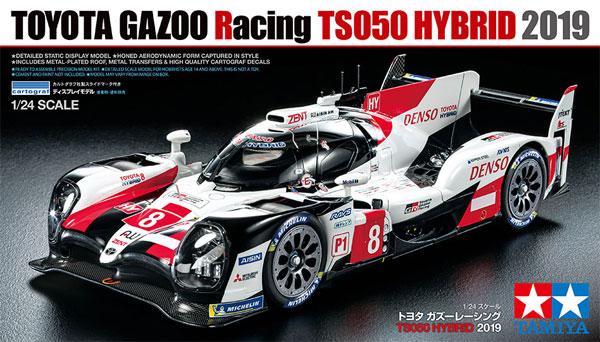 トヨタ ガズーレーシング TS050 ハイブリッド 2019プラモデル(タミヤ1/24 スポーツカーシリーズNo.421)商品画像