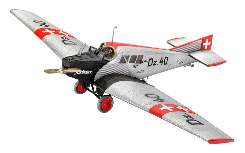 ユンカース F.13プラモデル(レベル1/72 AircraftNo.03870)商品画像_2