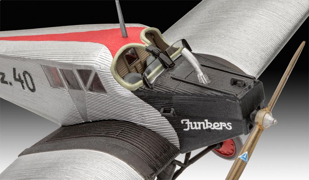 ユンカース F.13プラモデル(レベル1/72 AircraftNo.03870)商品画像_3