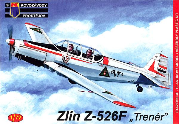 ズリン Z-526F トレーナープラモデル(KPモデル1/72 エアクラフト プラモデルNo.KPM0155)商品画像